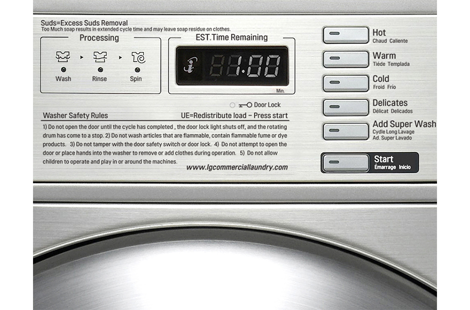 LG GIANT C+ Washer (Coin) – Mitralaundry